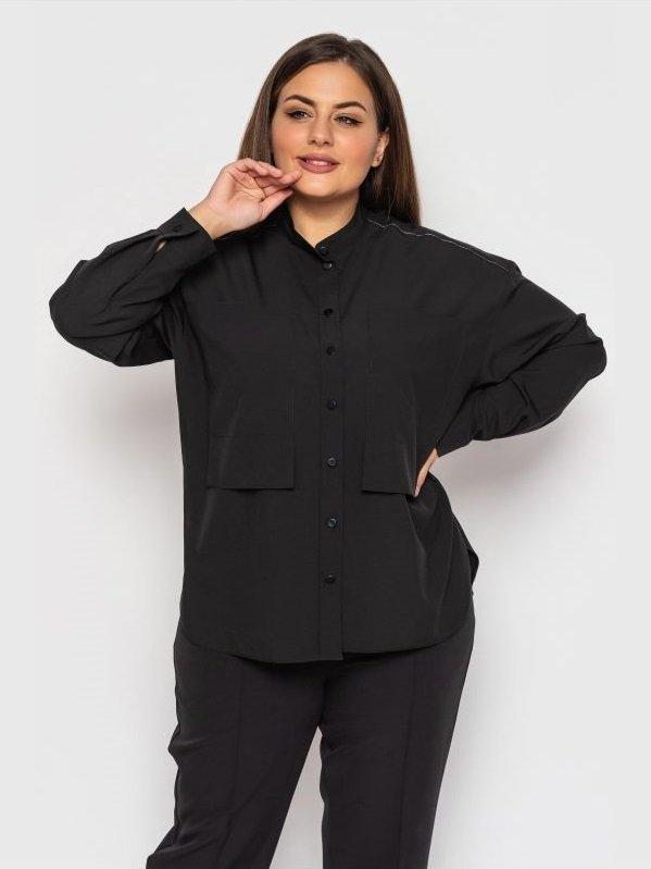 """Блуза """" Синобія """"(чорний)"""