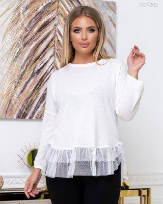 Білий светр Корфу (айворі)