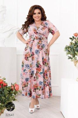 Сукня 32641 рожевий