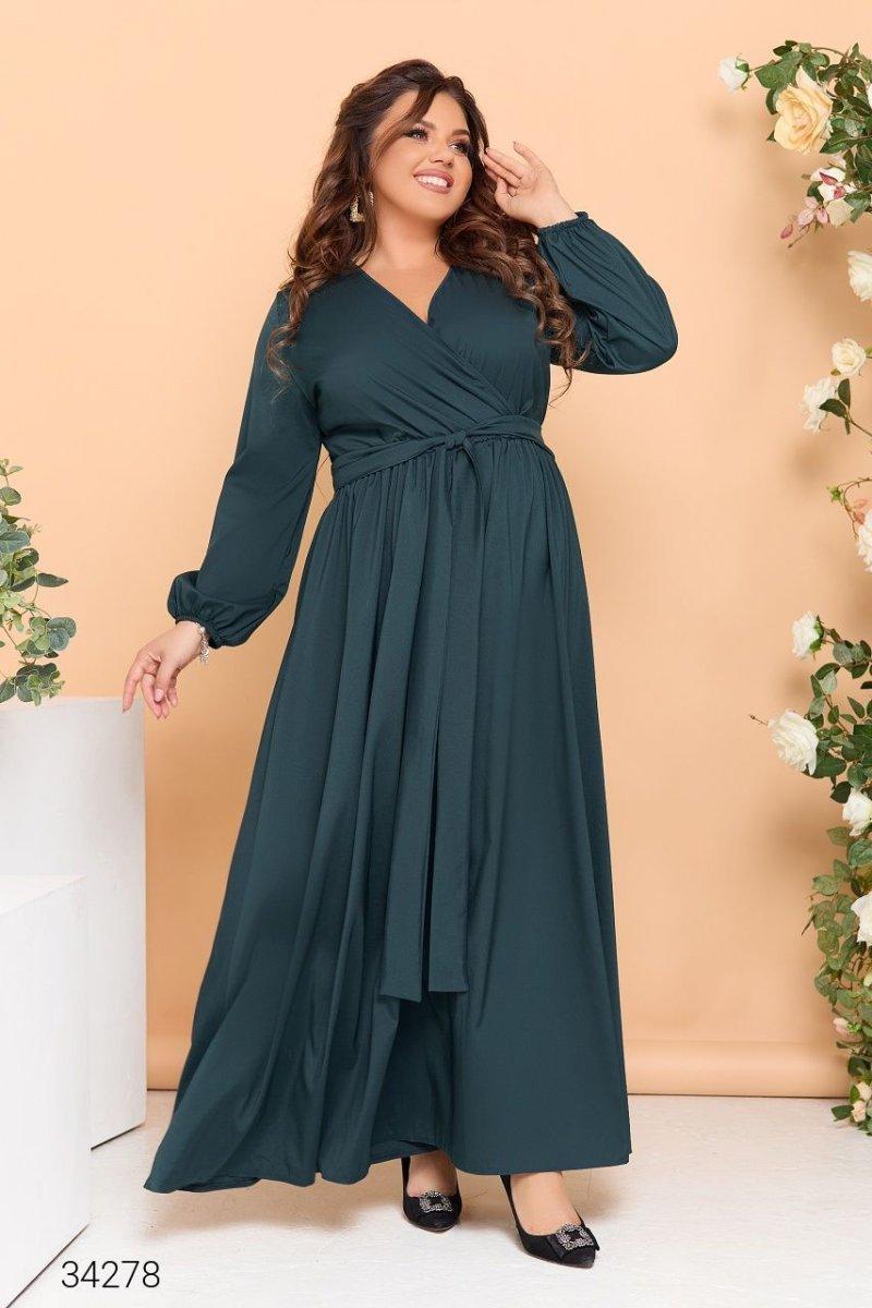 Вечірня сукня 34278 зелений