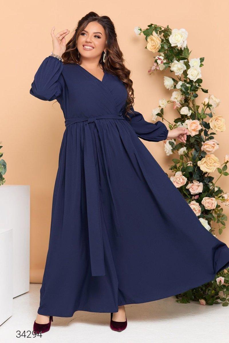 Вечірня сукня 34294 синій