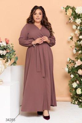 Вечірня сукня 34285 коричневий