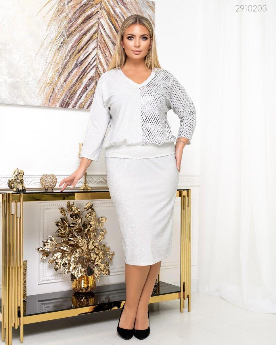 Жіночий костюм Лювен (Срібний)